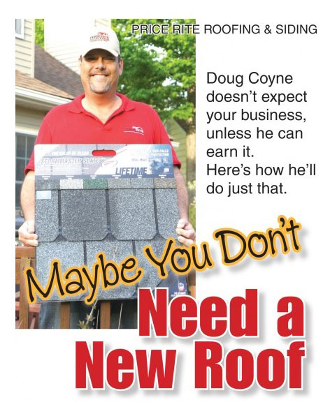 Cleveland Roofer - Picture of Doug Coyne, the owner of Price Rite Roofing.